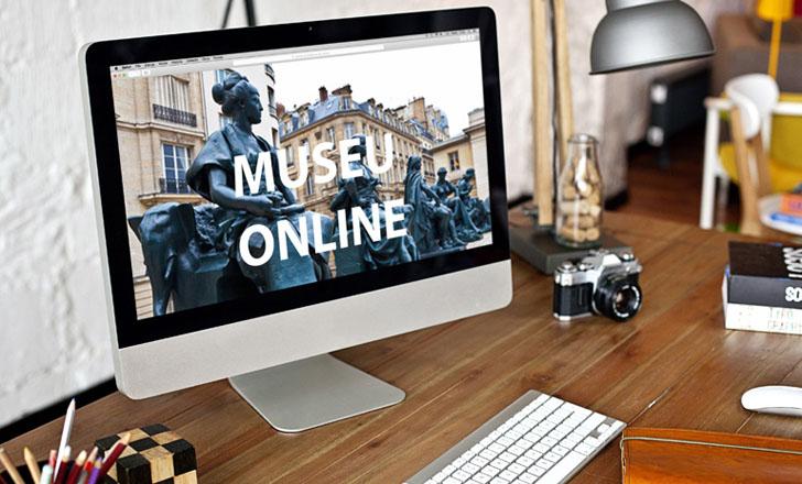 Hotsites para museu - Tríscele