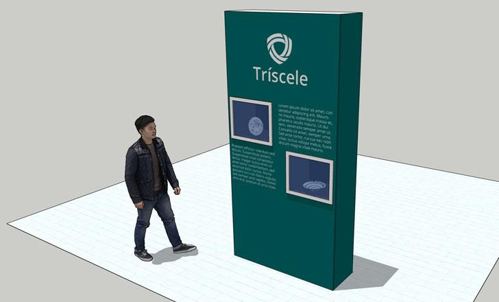 Mobiliário para museus - Tríscele