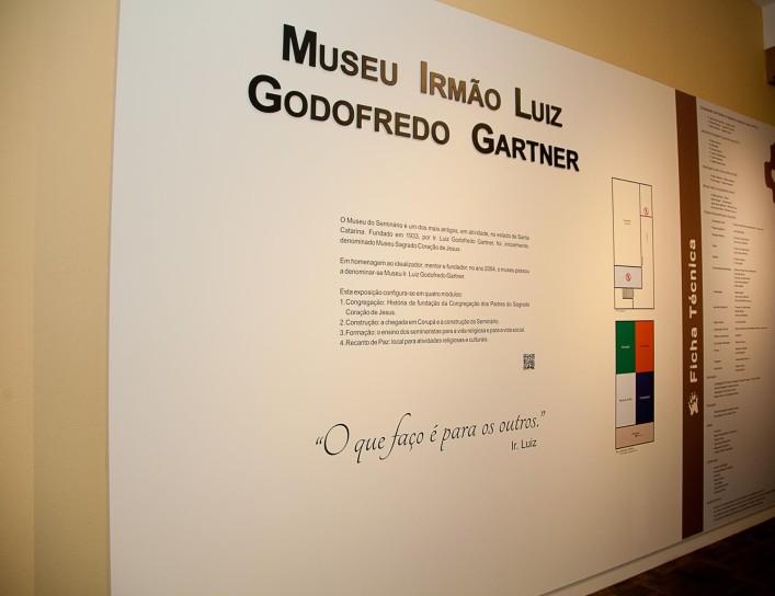 Museu Irmão Luiz Godofredo Gartner – Corupá/SC