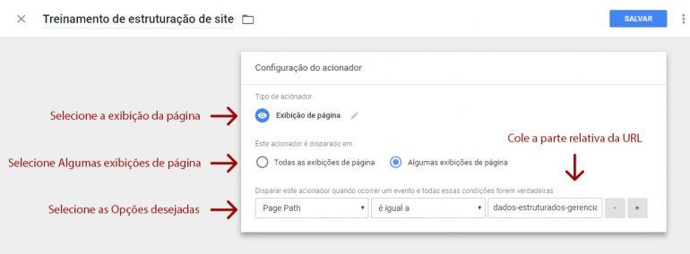 Criando Acionadores Gerenciador de Tags do Google funciona - Tríscele