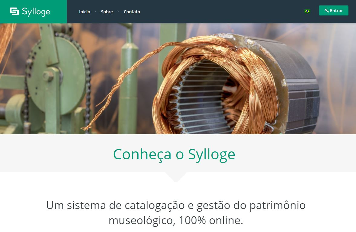 Conheça o Sylloge: Banco de Dados Para Museus - Tríscele