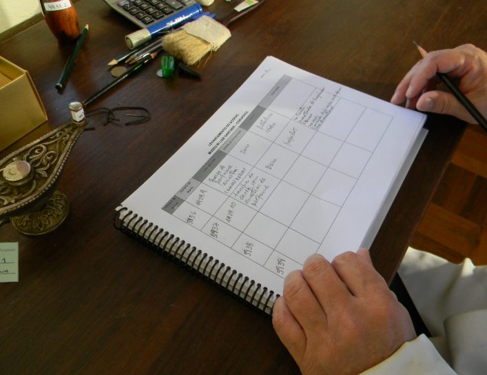 Elaborando a Tabela de Levantamento de Acervos Museológicos
